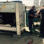 קירור מים למכונות